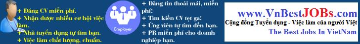 Mạng cộng đồng Tuyển dụng - Việc làm chất lượng của người Việt