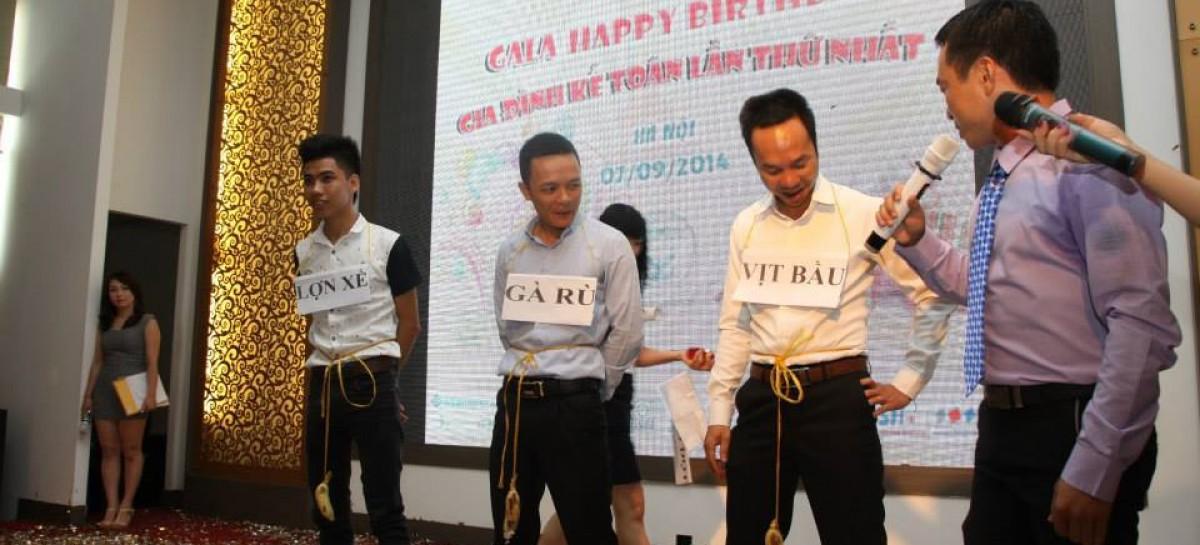 Event 07/09/2014 – GALA mừng sinh nhật GĐKT tròn 01 tuổi – Ấn tượng khó quên!