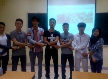 Chia sẻ kỹ năng truyền thông với các thủ lĩnh FBU Marekting Club