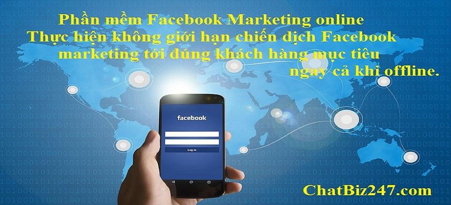 Phần mềm facebook marketing online - Phần mềm facebook marketing miễn phí dùng thử trong 7 ngày