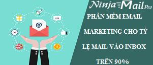 Phần mềm Email Marketing cho tỷ lệ mail vào inbox trên 90%