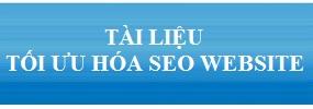 Tài liệu tối ưu hóa Seo website