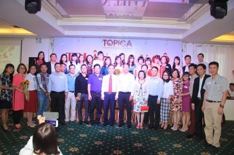 Tham gia chương trình tri ân 1000 giảng viên doanh nhân tại tổ hợp giáo dục Topica
