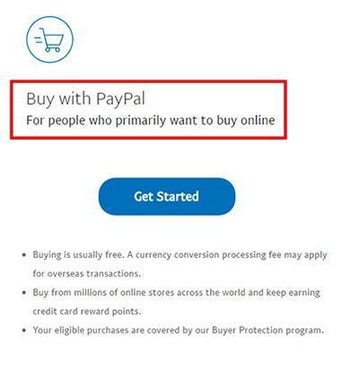 Hướng dẫn đăng ký tài khoản Paypal