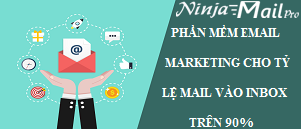 Phần mềm Email Marketing cho phép gửi email hàng loạt theo lịch trình với tỷ  lệ mail vào inbox trên 90%