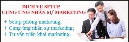 Dịch vụ setup phòng marketing và cung ứng nhân sự marketing, bán hàng