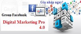 Cộng đồng những người yêu thích digital marketing pro 4.0