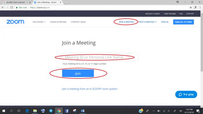 Hướng dẫn sử dụng phần mềm hội thảo trực tuyến