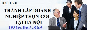 Dịch vụ thành lập doanh nghiệp trọn gói tại Hà Nội