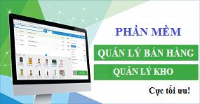 Phần mềm Quản lý bán hàng - Quản lý kho  chuyên nghiệp