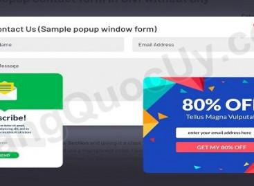 Cách tạo quảng cáo Popup cho website