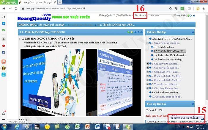 Khóa học SMS Marketing chỉ từ 0đ