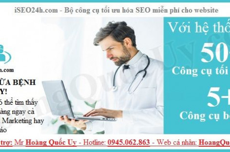 Cách khám và chữa bệnh cho website để tăng lượng khách hàng mới