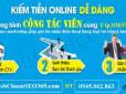 Tuyển Cộng tác viên kiếm tiền online với nền tảng sms marketing mới