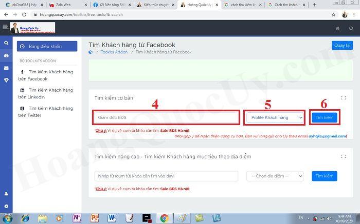 Cách tìm khách hàng mục tiêu trên facebook